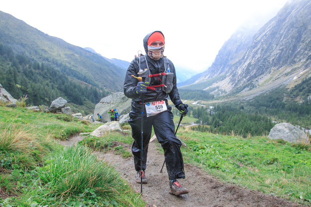 greg runner froid trail course